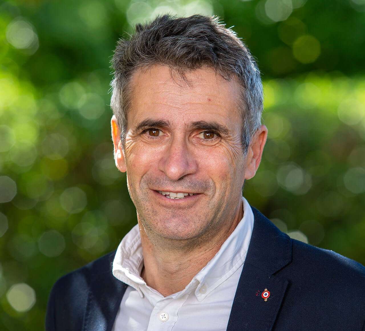Xavier DANEY maire d'Ares